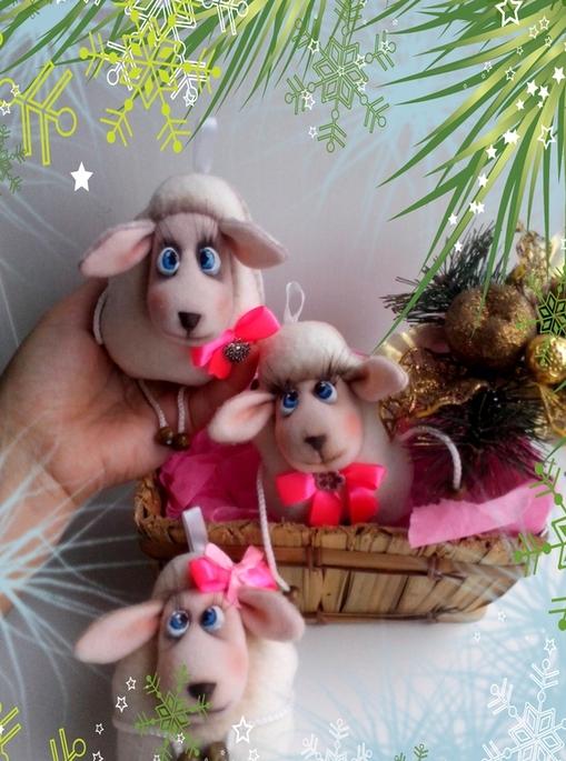 игрушки овечки