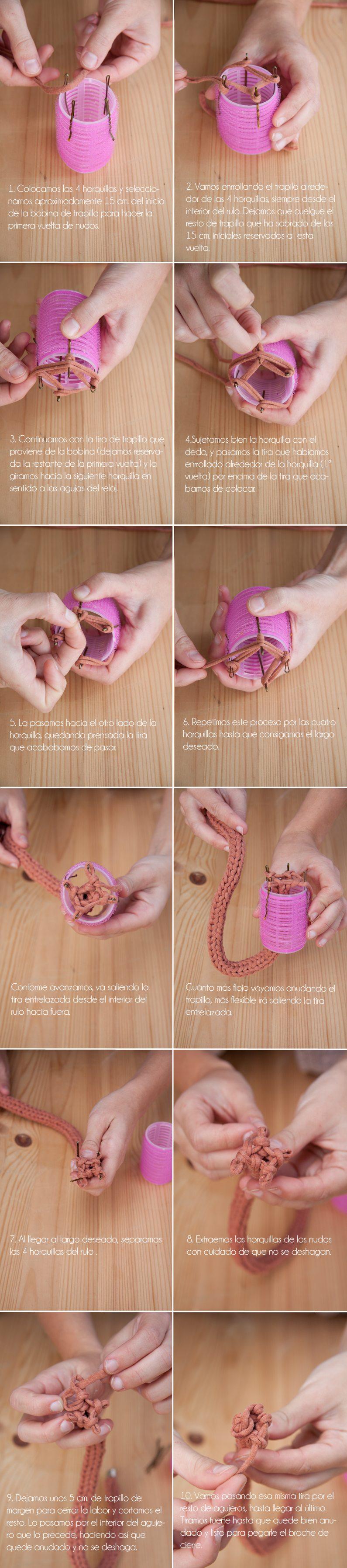 как сплести ожерелье