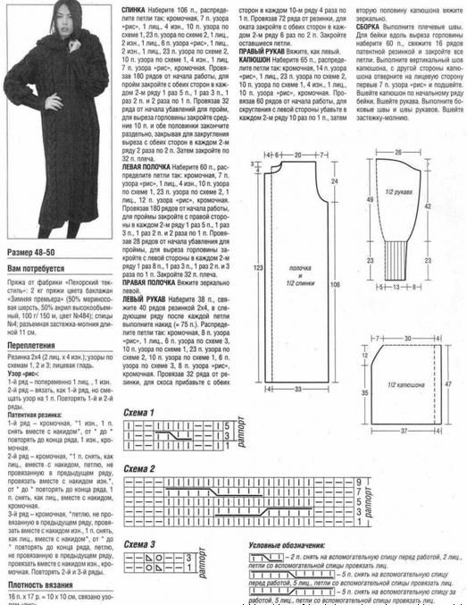 описание пальто