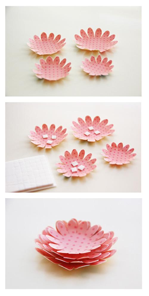 скрапбукинг цветок