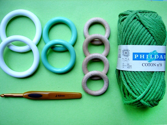 Кольца для вязания крючком 86