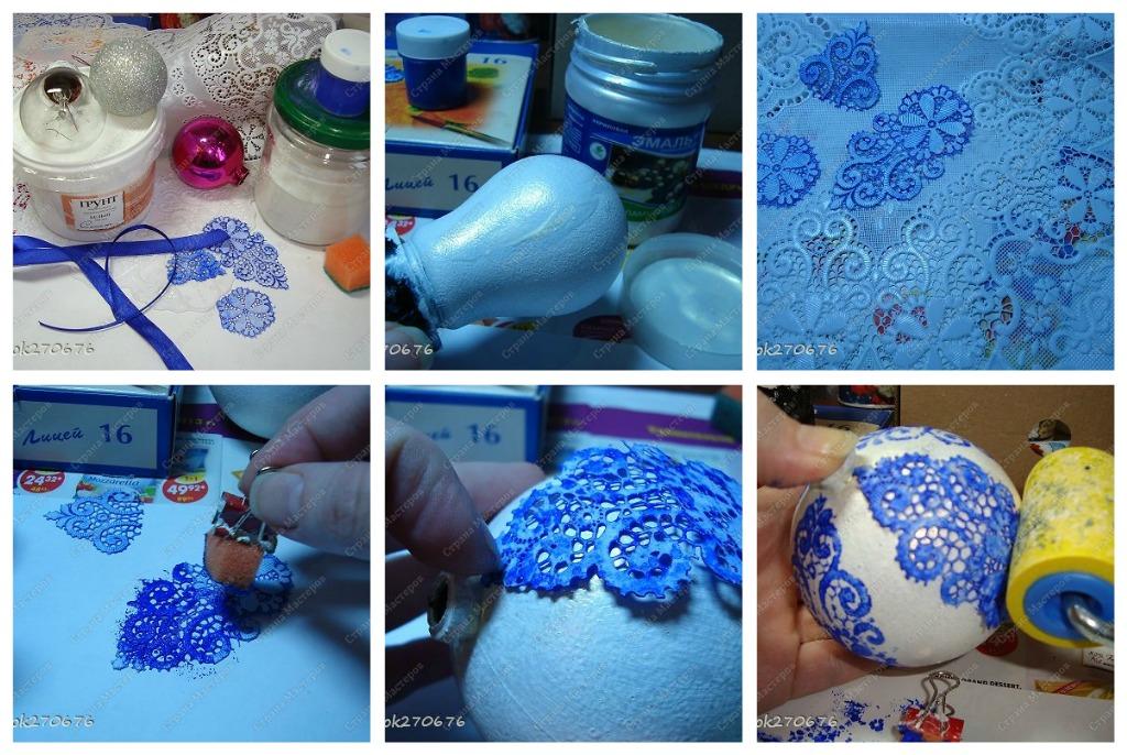 Как украсить шарик