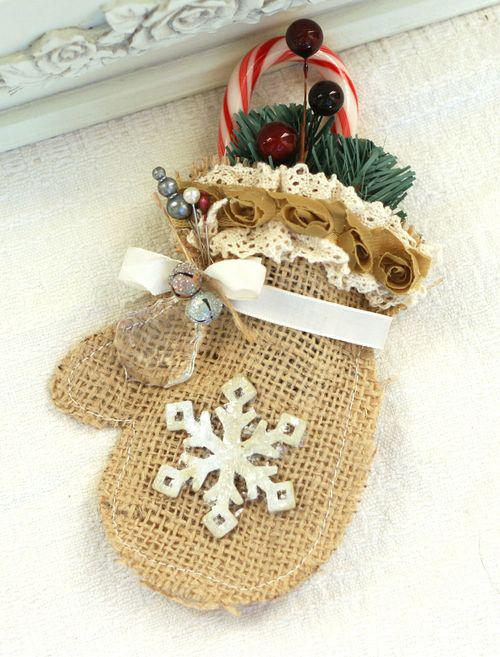 декоративная рукавичка