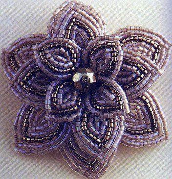 бисерный цветок