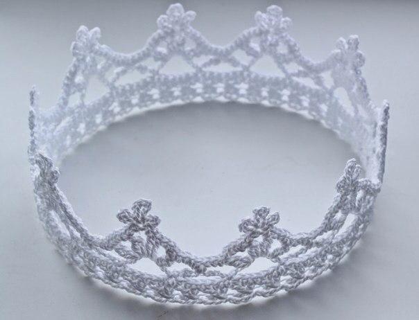 как связать корону