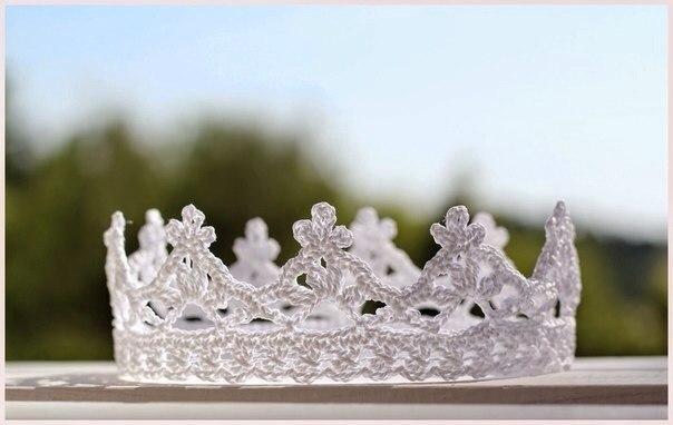 корона вязаная