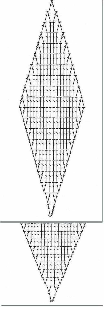 схема пледа