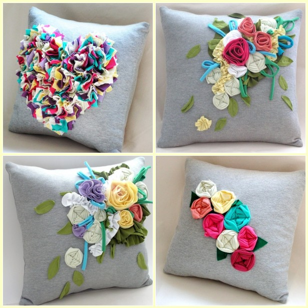 Идеи подушки своими руками
